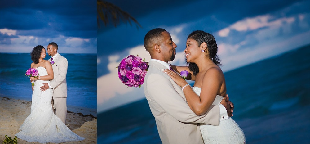 Quanisha & Herman at Riu Palace