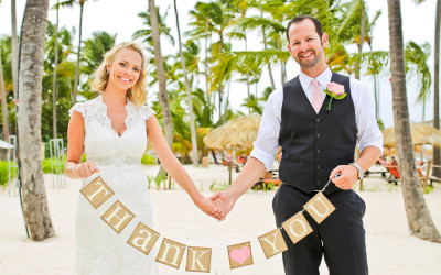 Allie & Chris Wedding at Dreams Palm Beach