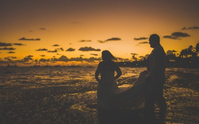 Trash the Dress at Sunrise in Cabeza de Toro