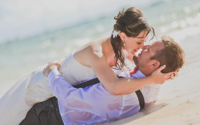 Trash the Dress photoshoot in Punta Cana