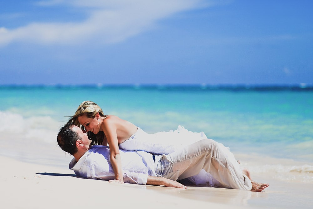 Trash the Dress in Punta Cana