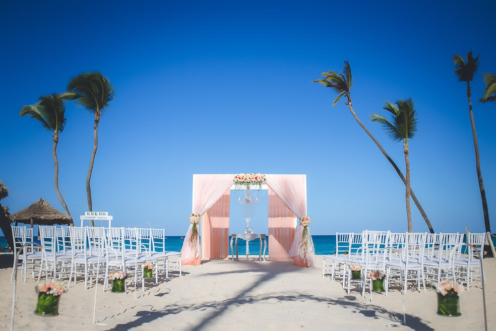 Wedding at Kukua Beach Restaurant