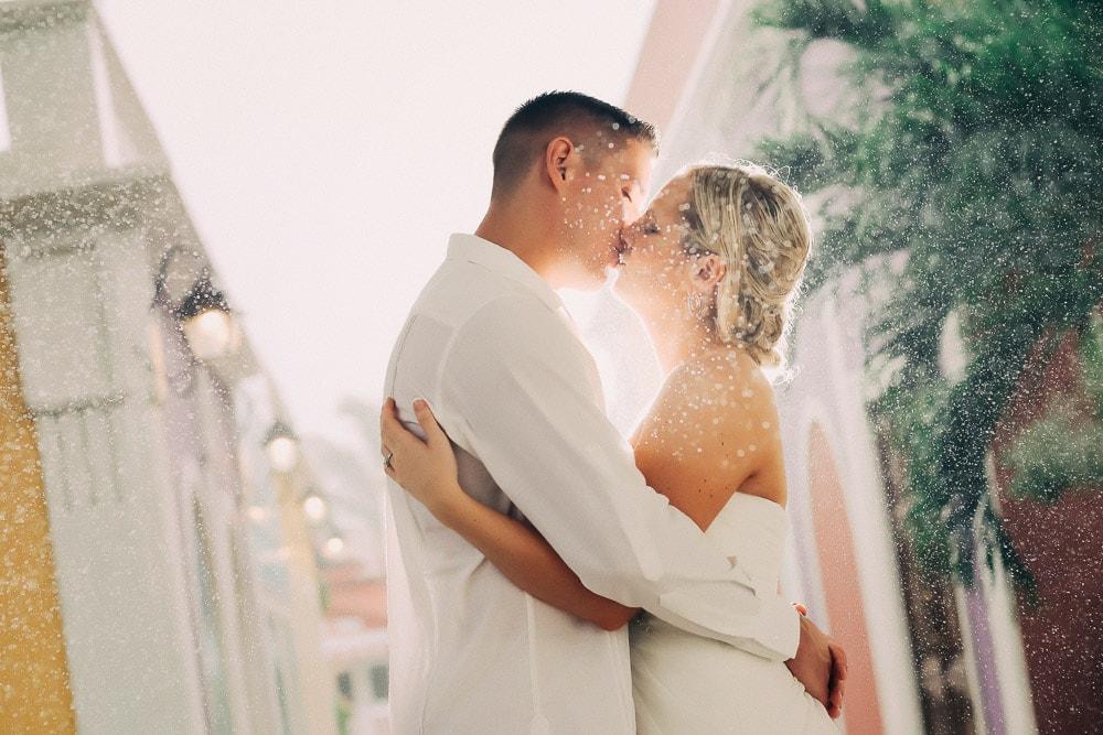 Wedding Photography under the Rain in Punta Cana