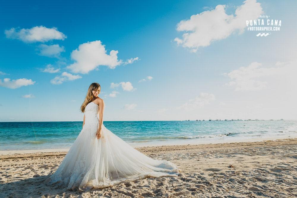 Trash the Dress at Jellyfish Punta Cana