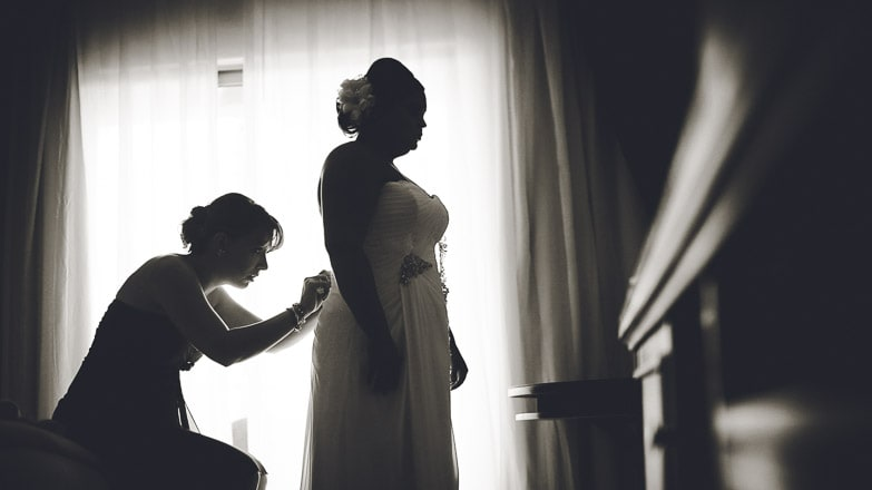 Bridal Getting Ready by Punta Cana Photographer