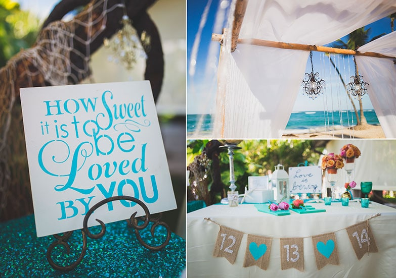 destination wedding ambiance
