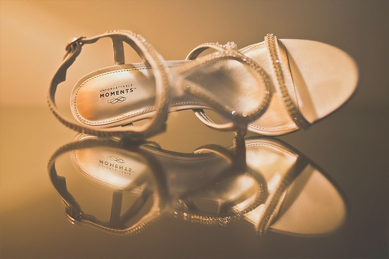 Wedding Shoes by Punta Cana Photographer