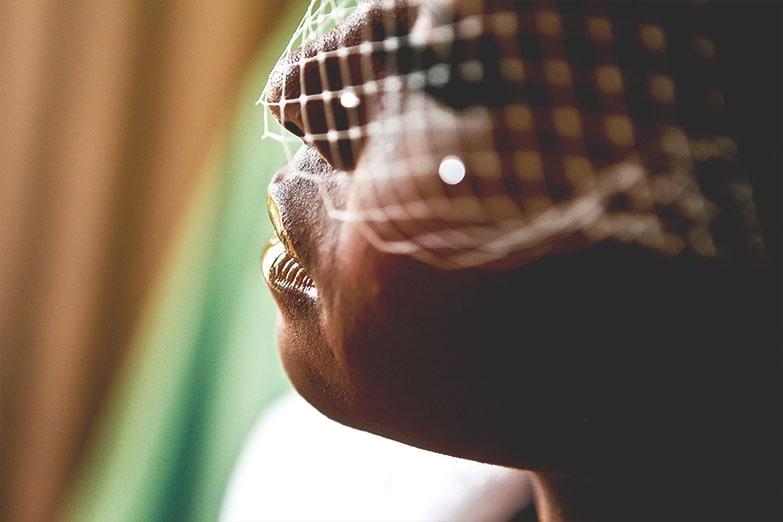 Wedding Veil by Punta Cana Photographer