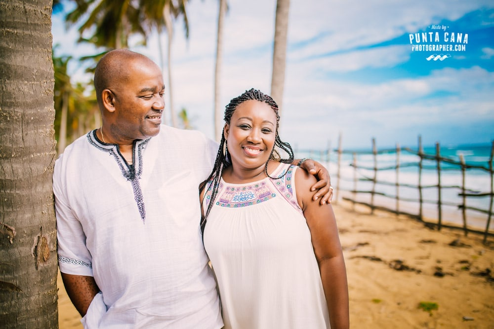 Family Photoshoot in Punta Cana at Macao Beach