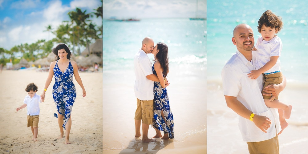 Family Photoshoot at Presidential Suites Punta Cana