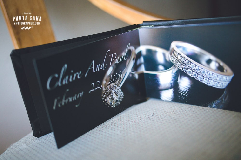 Wedding Albums by Punta Cana Photographer