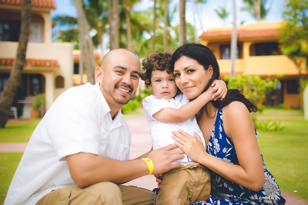 Family Photoshoot in Presidential Suites Punta Cana