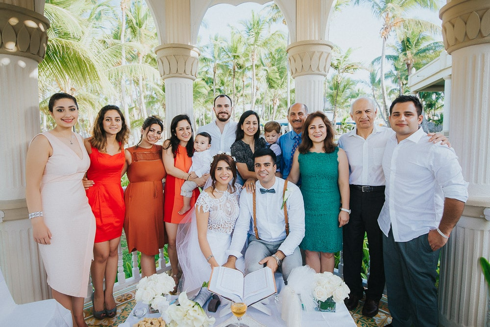 Persian Wedding at Riu Bambu Punta Cana