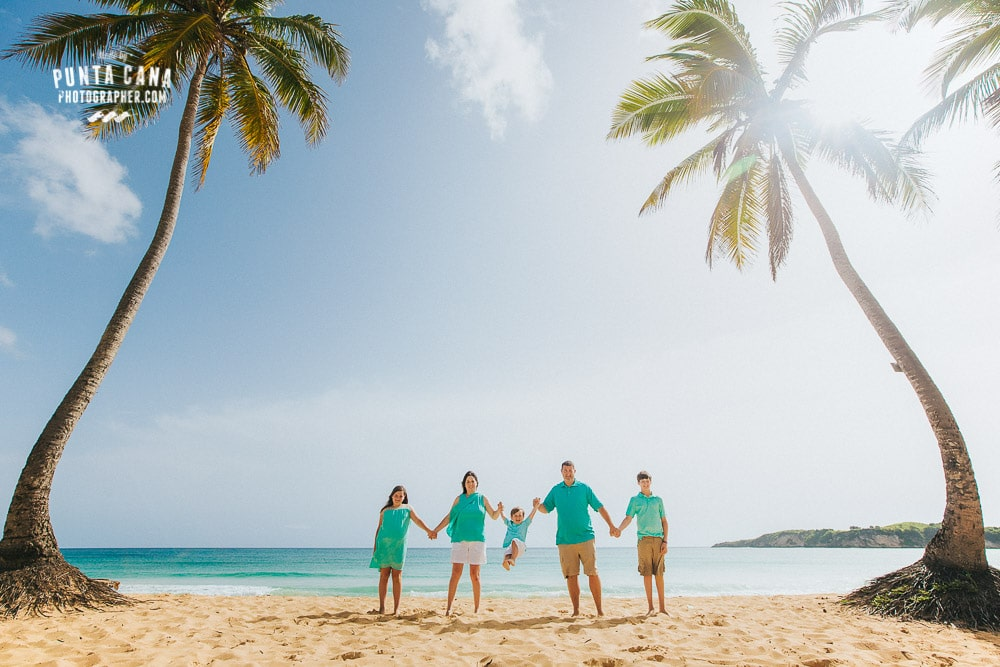 Family Photosession in Punta Cana