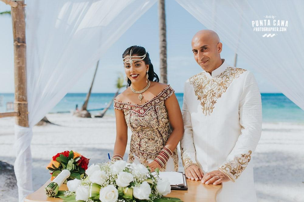 Indian Wedding in Punta Cana at Dreams Palm Beach