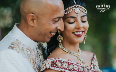 Indian Wedding at Dreams Palm Beach - Hazel & Asif
