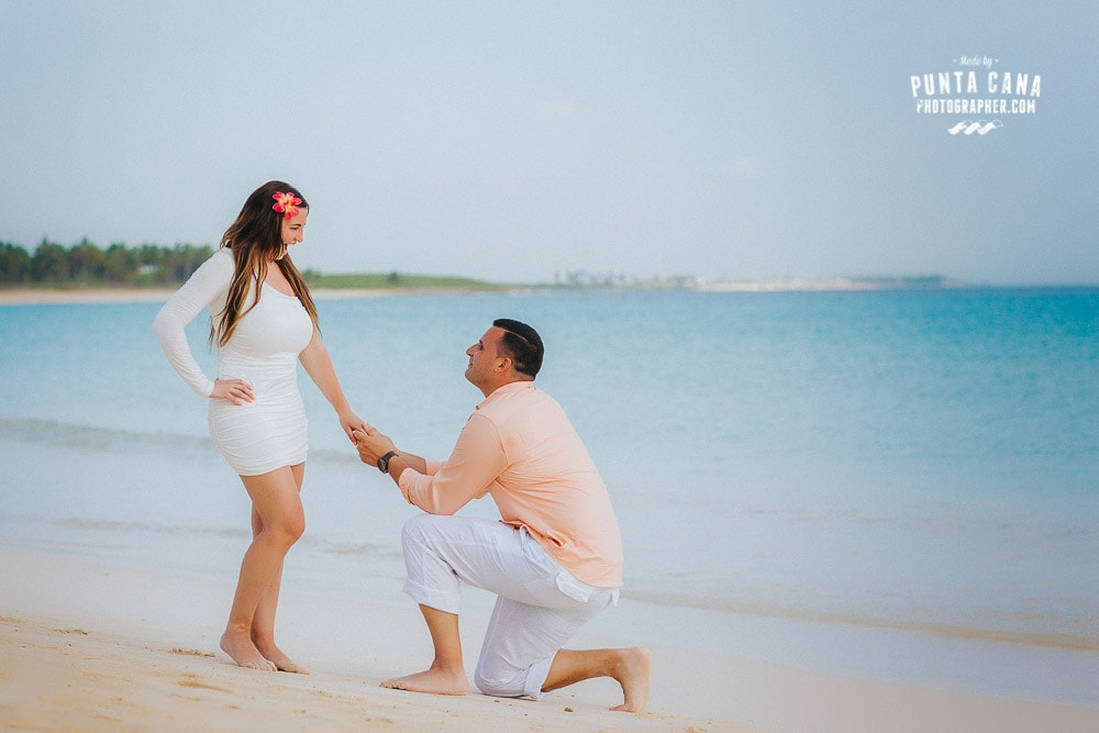 Surprise Proposal Photoshoot in Punta Cana - Michael & Michelle