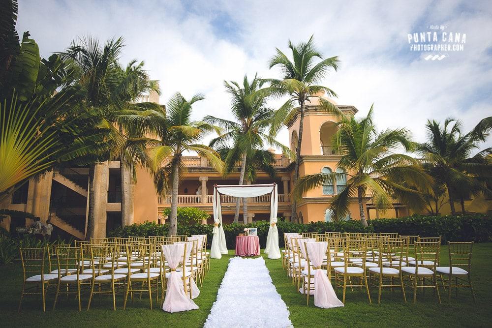 Sanctuary Cap Cana Wedding