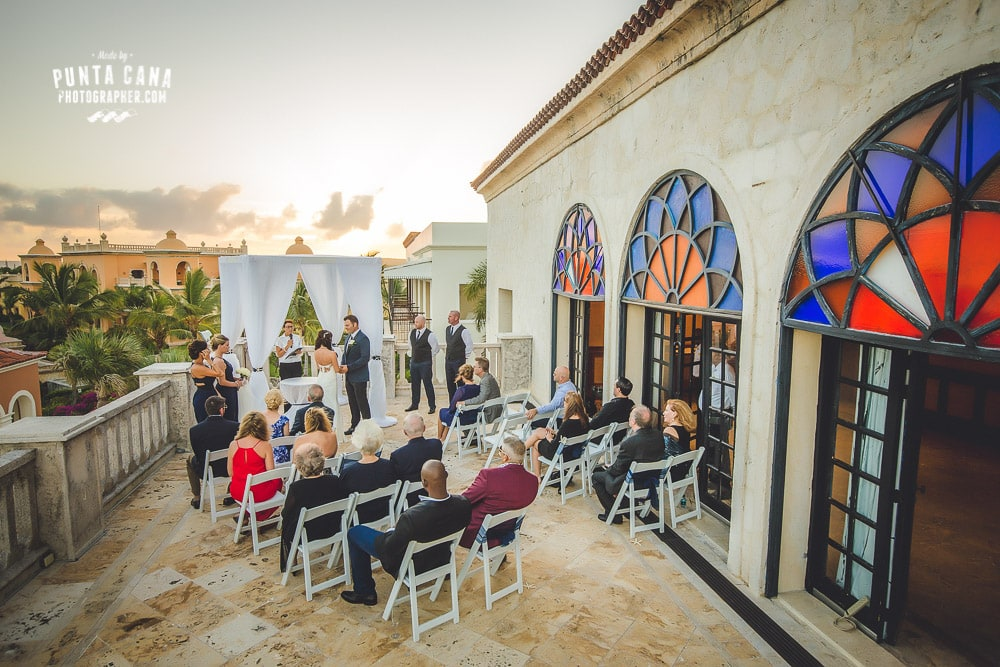 Sanctuary Cap Cana Wedding