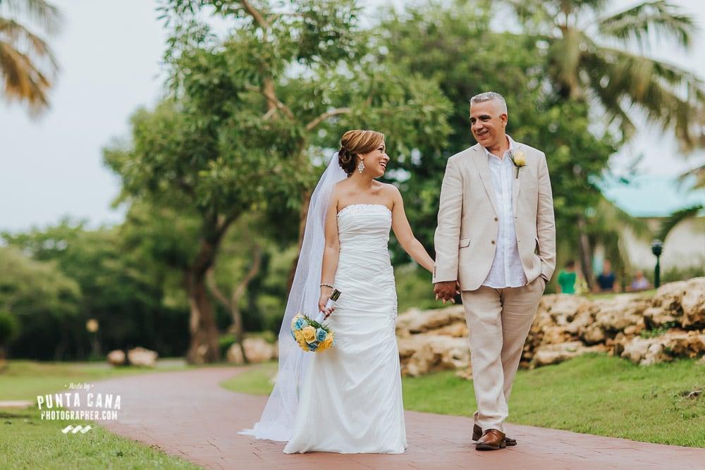 Dreams La Romana Wedding at Bayahibe - Damarys & Luis