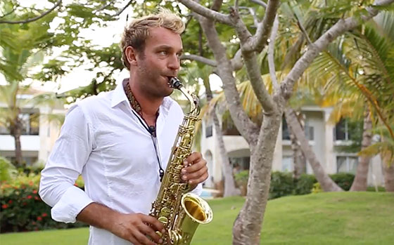 Punta Cana Musician - Wedding Saxophonist