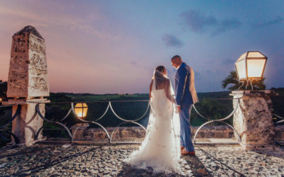 Trash the Dress in Altos de Chavon – Will & Carolyn