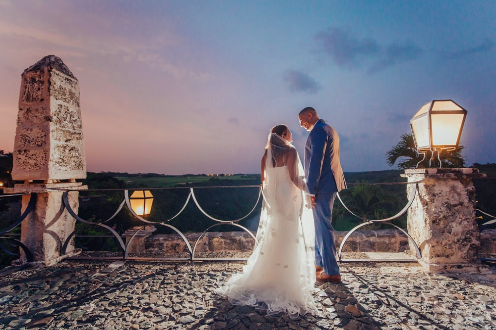 Trash the Dress in Altos de Chavon - Will & Carolyn