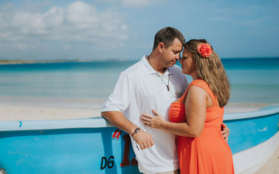 Wedding Anniversary Photoshoot in Macao Beach Punta Cana
