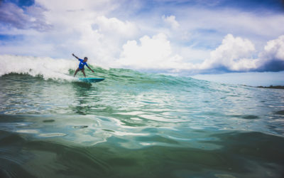 Where to find some wave action in Punta Cana?