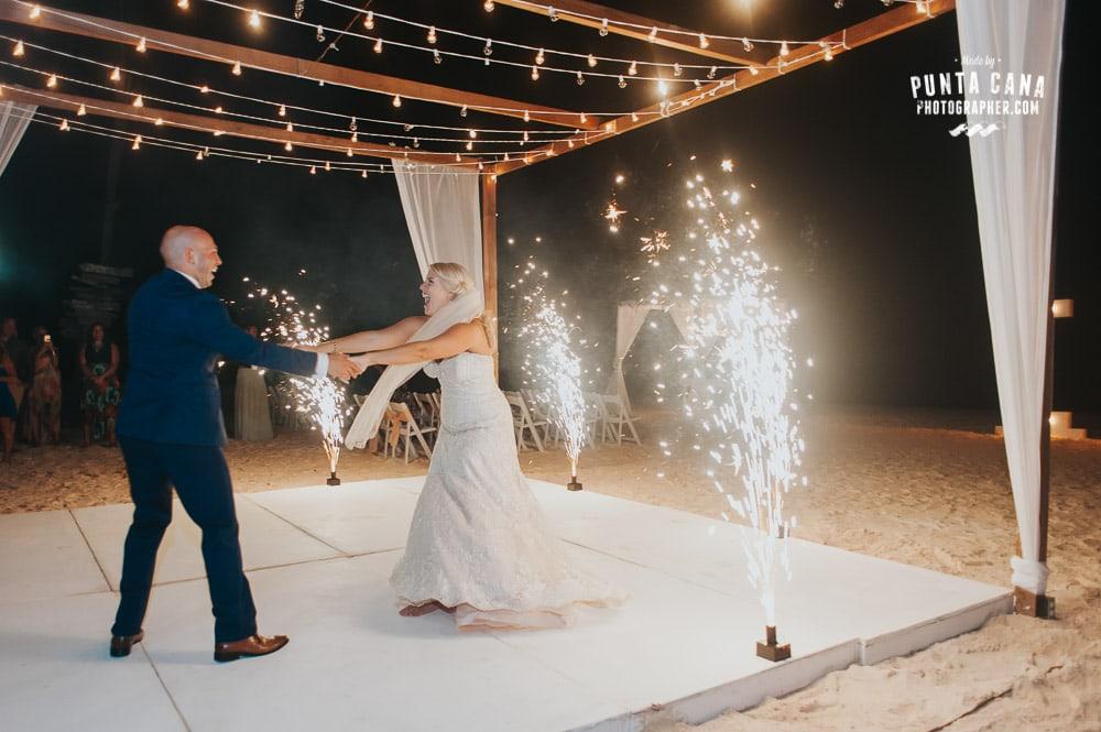 Huracan Cafe Wedding by Punta Cana Photographer