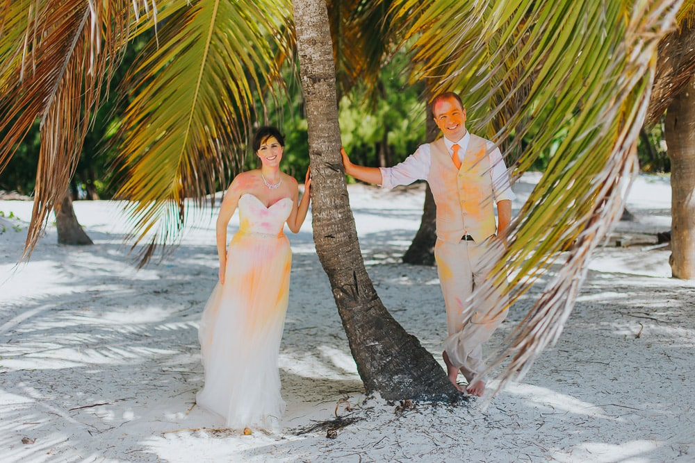 Color Powder Photo shoot Punta Cana