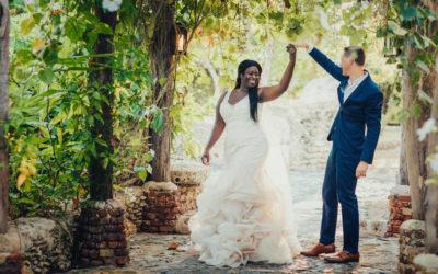 Altos de Chavon Wedding Photo Shoot – Sade & Adam