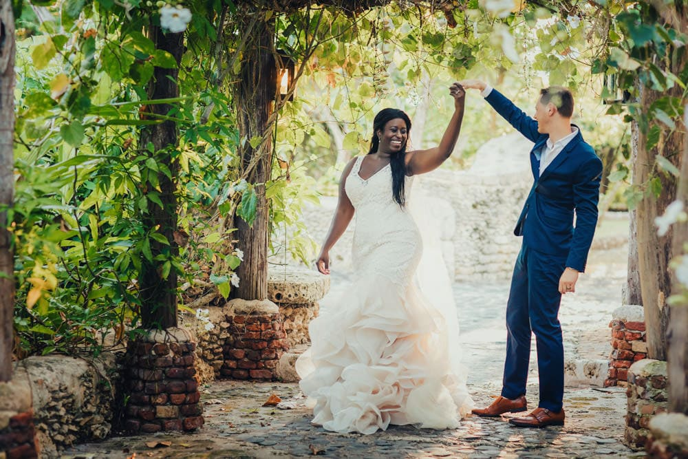 Altos de Chavon Wedding Photo Shoot - Sade & Adam
