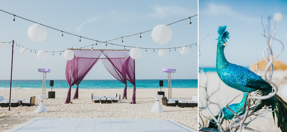 hard rock wedding setups
