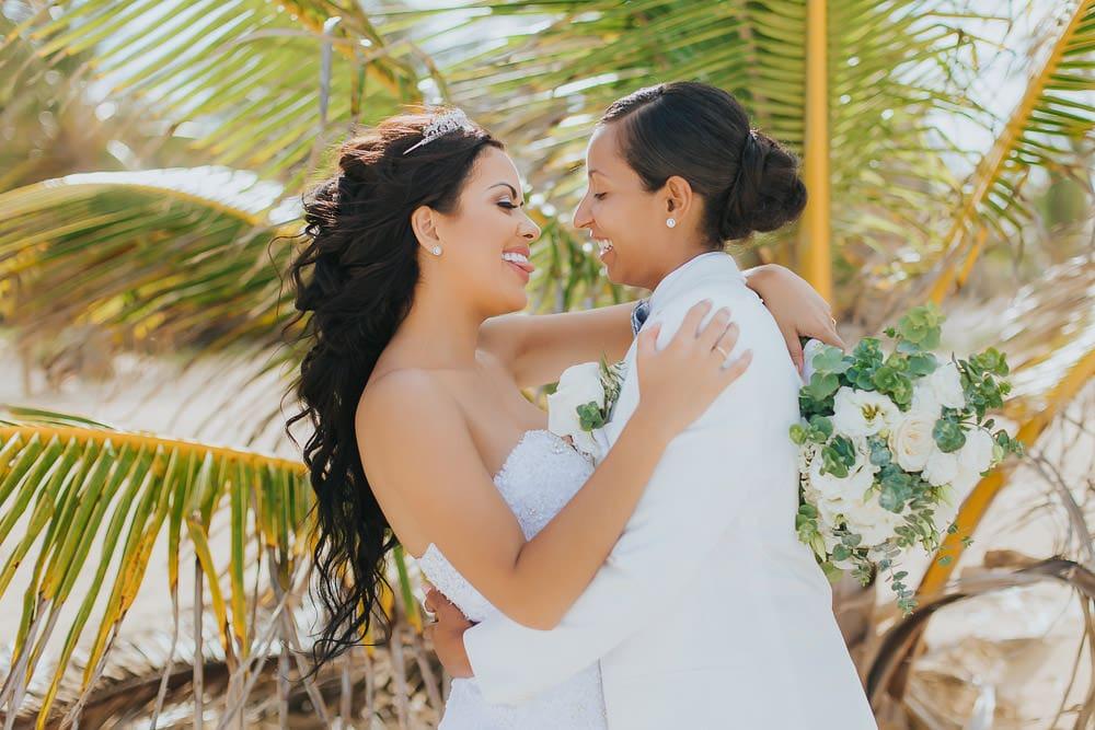 Same sex wedding in Punta Cana