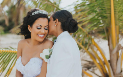 Same-Sex Wedding Video at Hard Rock Punta Cana - Lilliana & Katherin