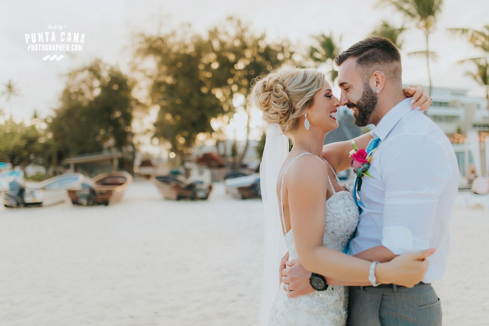 Huracan Cafe Wedding in Punta Cana - Rachel & Colton