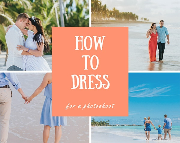 How to Dress for a beach Photoshoot
