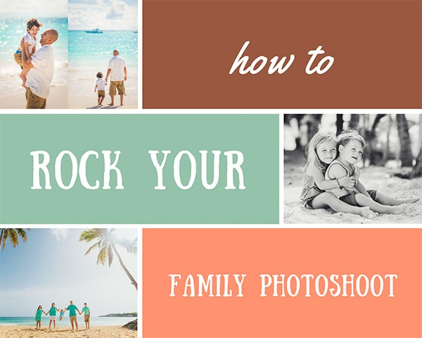How to rock your Family Photoshoot