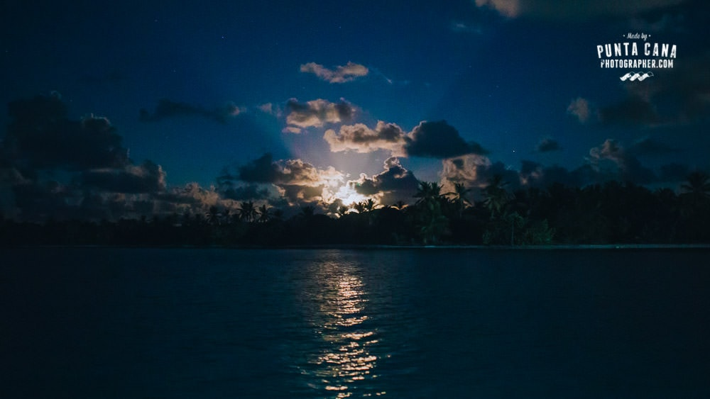 Bavaro Beach at Night
