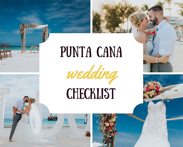 Punta Cana Wedding Checklist