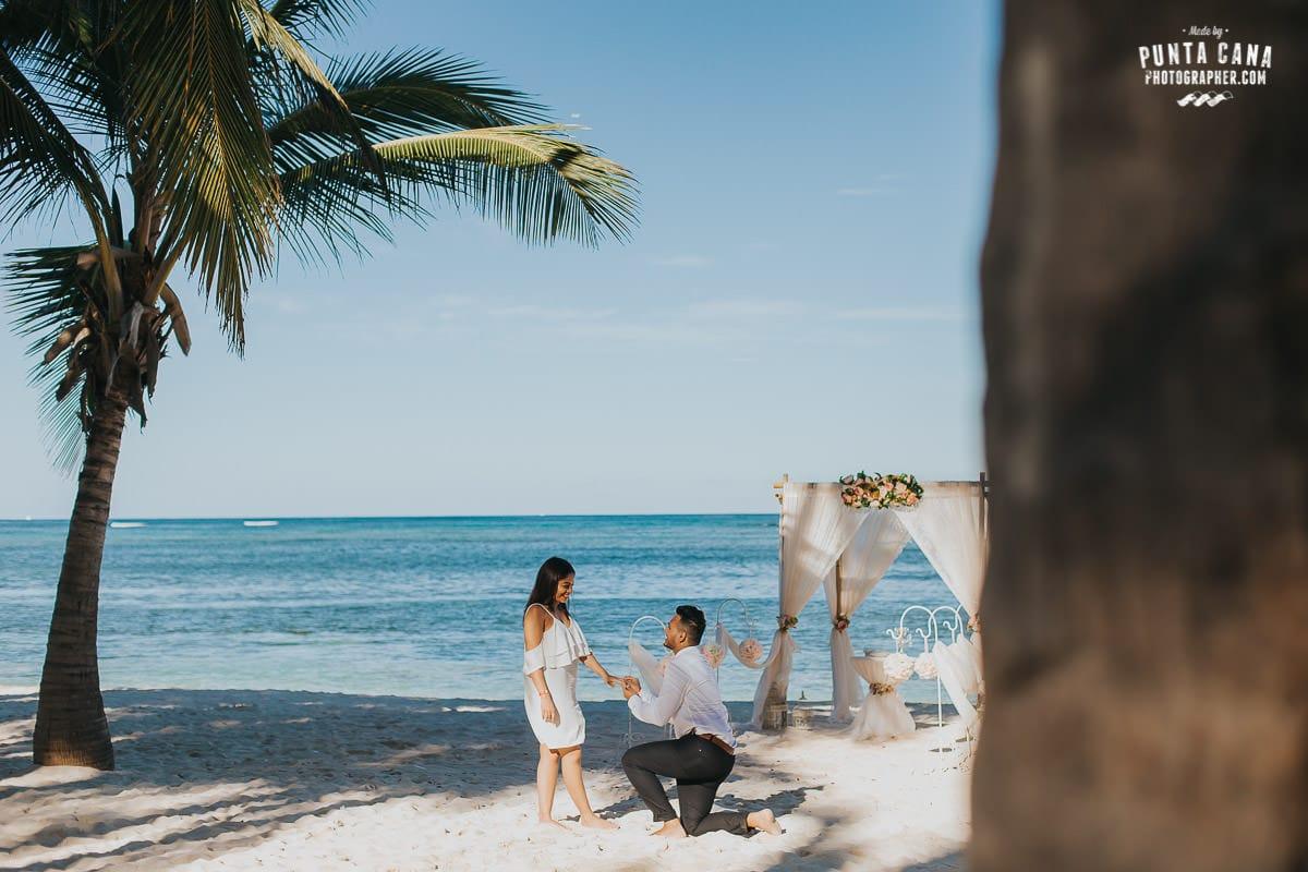 surprise engagement photos