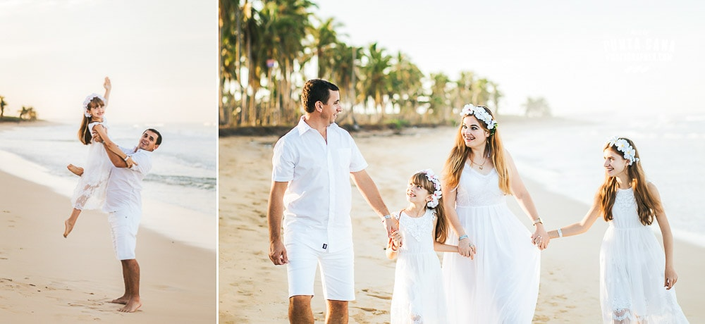 Punta Cana Family Photoshoot