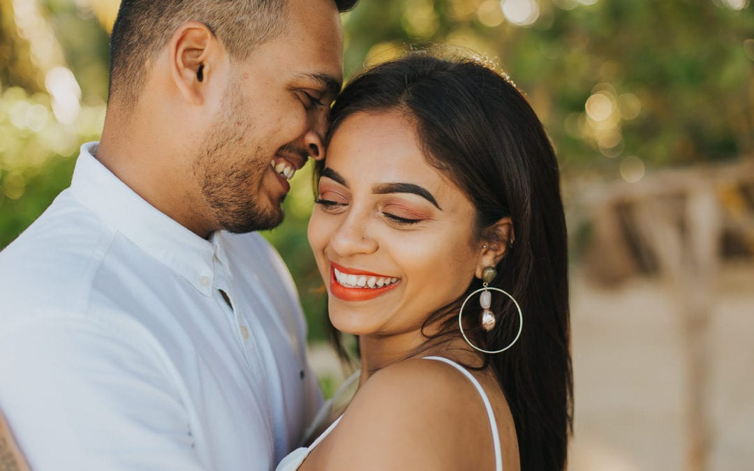 Surprise Engagement Photos on a Secluded Beach – Viral & Monica