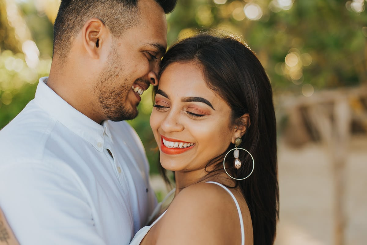 Surprise Engagement Photos on a Secluded Beach - Viral & Monica