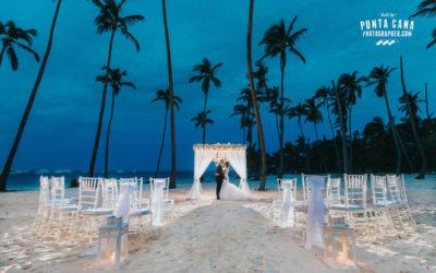 Glam Wedding at Jellyfish Restaurant in Punta Cana – Jessica & Roger