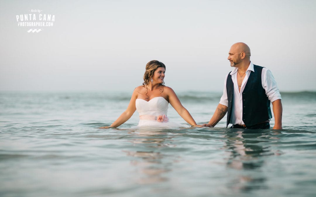 Trash the Dress at Macao Beach – Liliana & Tony