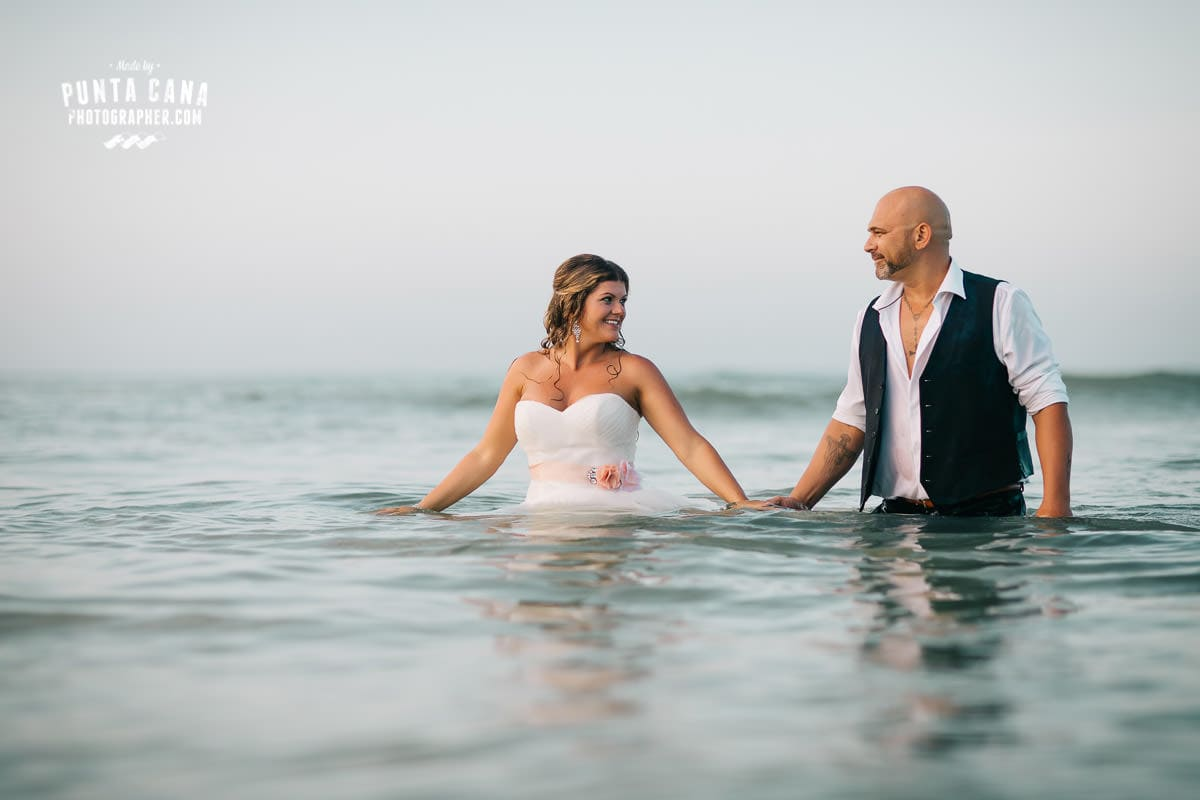 Trash the Dress at Macao Beach - Liliana & Tony