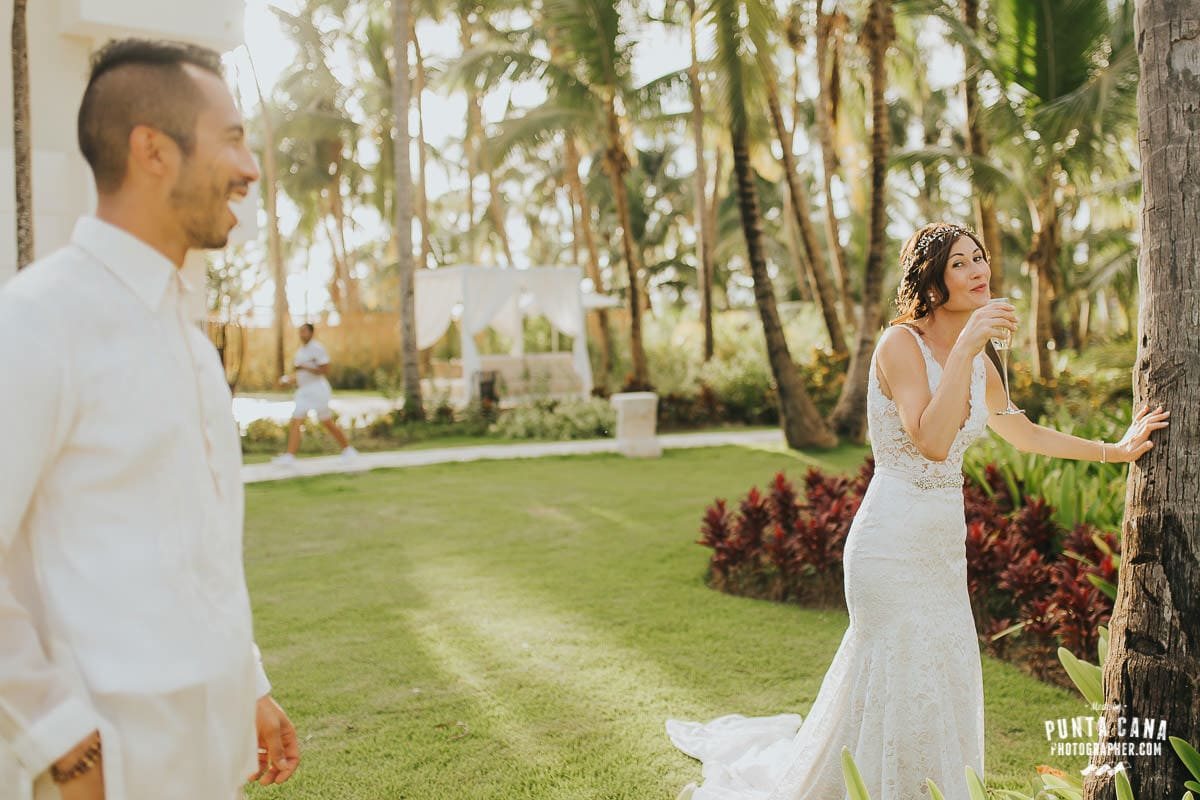 catalonia royal bavaro wedding