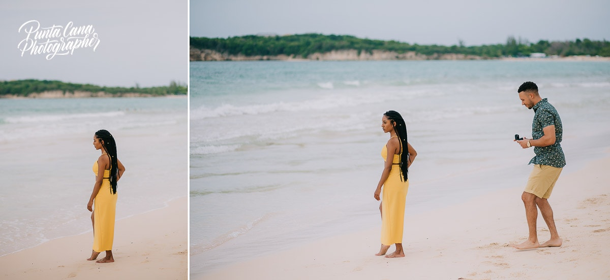 Surprise Engagement Photoshoot in Macao Beach